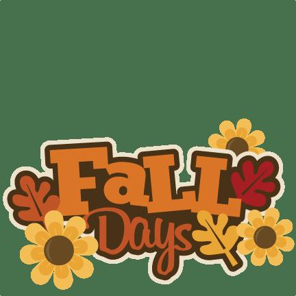 fall birthday clipart kid