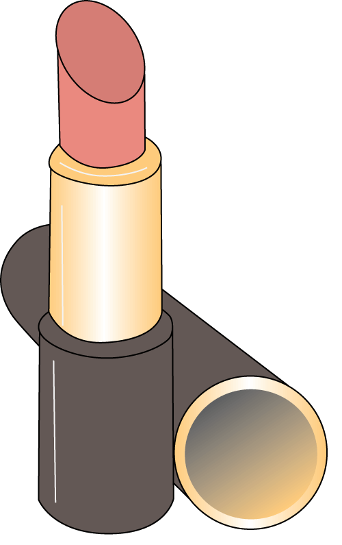 Image result for lipstick  clipart