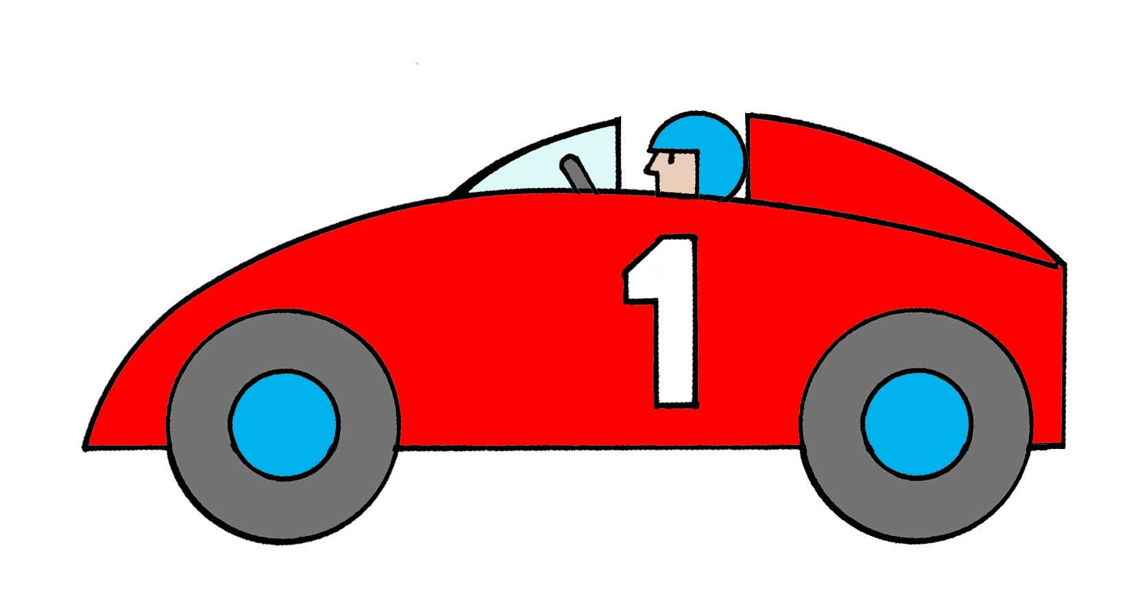 hight resolution of race car clipart 2