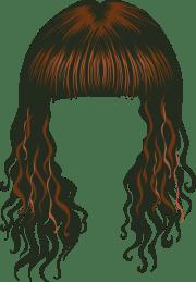 hair clipart 4
