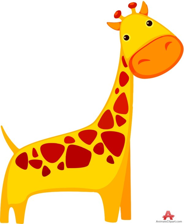 Giraffe Animal Cartoon Clip Art