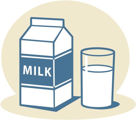 milk clipart bullsik