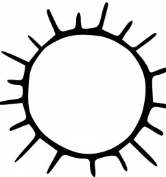 sun black and white top free clipart sun black and white picture vectorealy 2 [ 1228 x 1213 Pixel ]