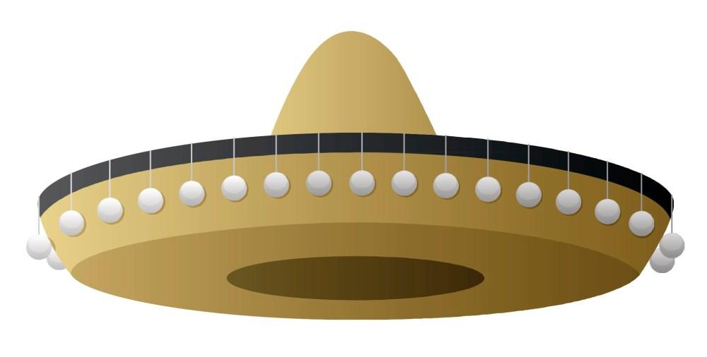 medium resolution of sombrero clipart free clip art images 3