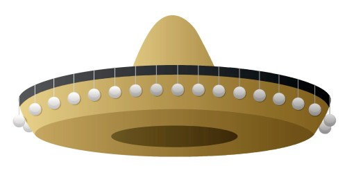 small resolution of sombrero clipart free clip art images 3