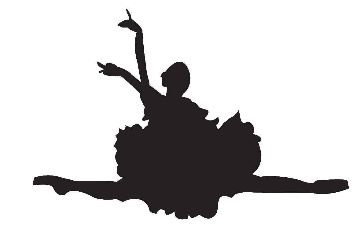 hight resolution of ballerina ballet dancer clipart silhouette free images 5