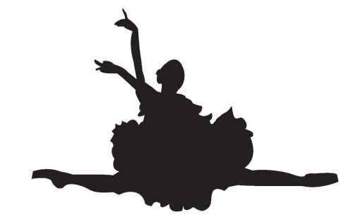 small resolution of ballerina ballet dancer clipart silhouette free images 5