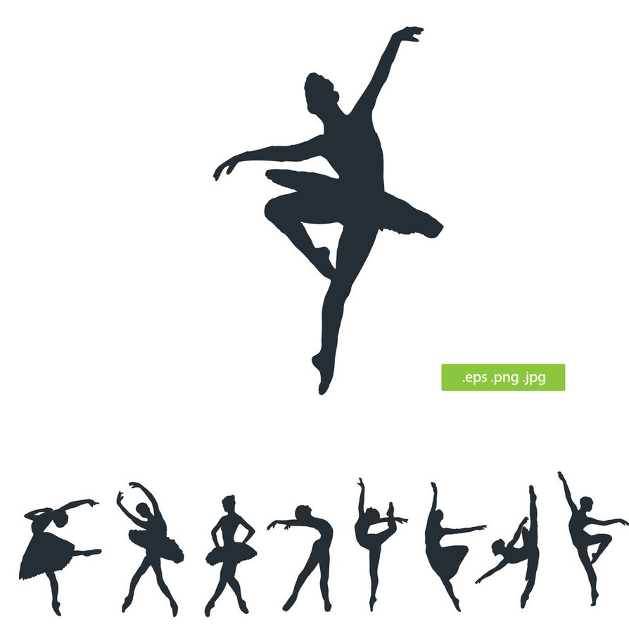 hight resolution of ballerina clipart image 39643