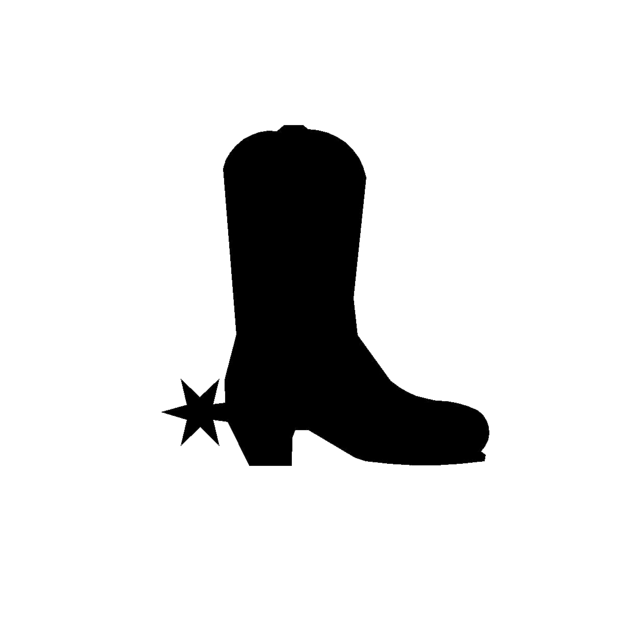 hight resolution of cowboy boot cutewboy boots clipart free images