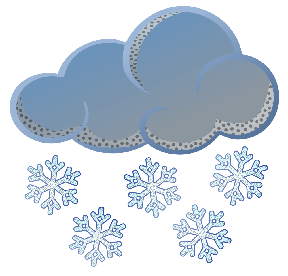 medium resolution of snow clip art free clipart images