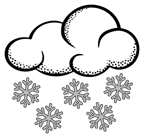 small resolution of snow clip art image 39395