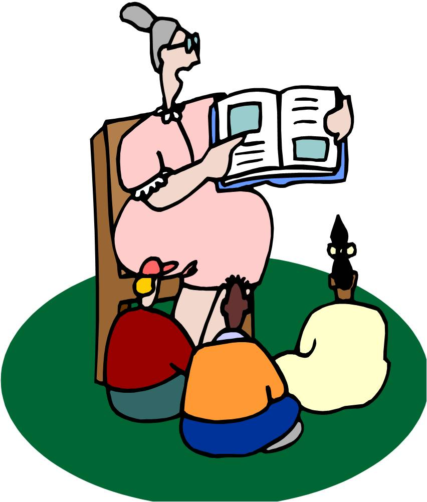 hight resolution of grandma storytelling clipart cliparts and others art inspiration