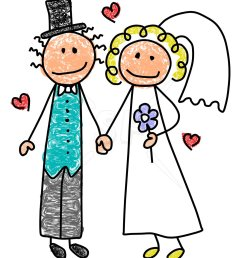 bride and groom clip art free clipart images [ 1050 x 1275 Pixel ]