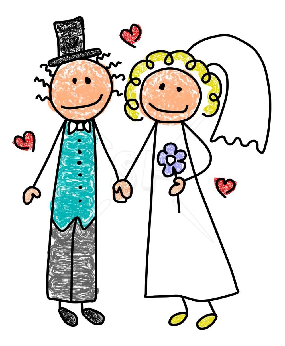 medium resolution of bride and groom clip art free clipart images