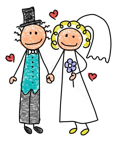 small resolution of bride and groom clip art free clipart images