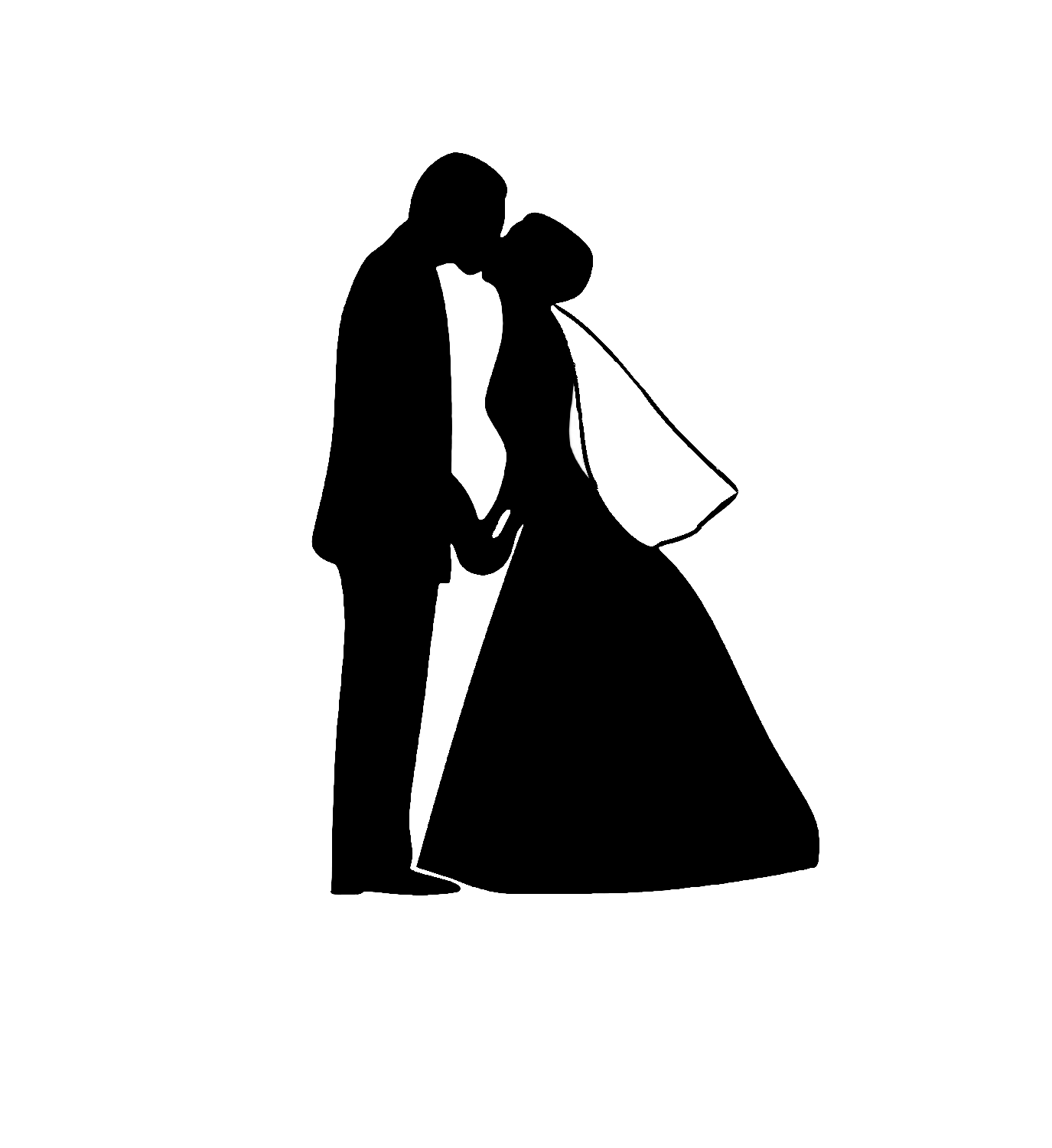 hight resolution of bride and groom clipart image 42929