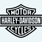 How To Draw Harley Davidson Logo Step By Jpg Cliparting Com