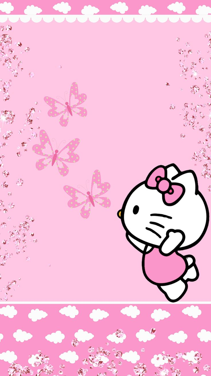 Hello Kitty Pink Cute Wallpaper Bergerak Hello Kitty Party Clipart Clipground Jpg Cliparting Com