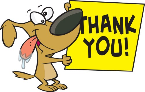 small resolution of dog hold thank you note graphic images photos pictures jpg