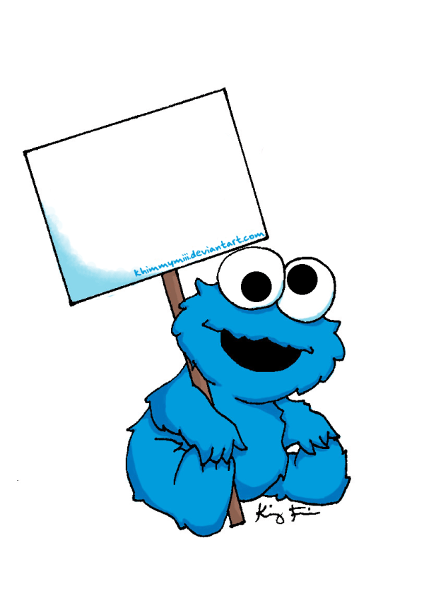 Cookie Monster Clip Art #4756