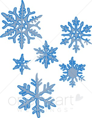 snowflake clipart #1028