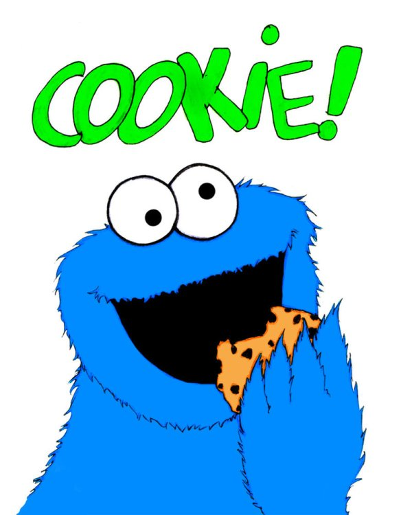 cookie monster clip art #4761