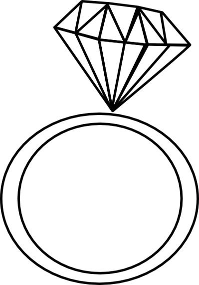 best engagement ring clipart