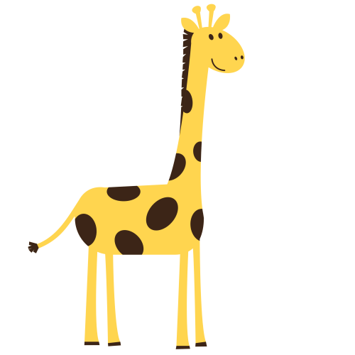 small resolution of giraffe clip art free clipart images