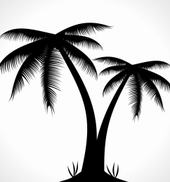 palm tree silhouette clipart free clip art images [ 1024 x 1024 Pixel ]