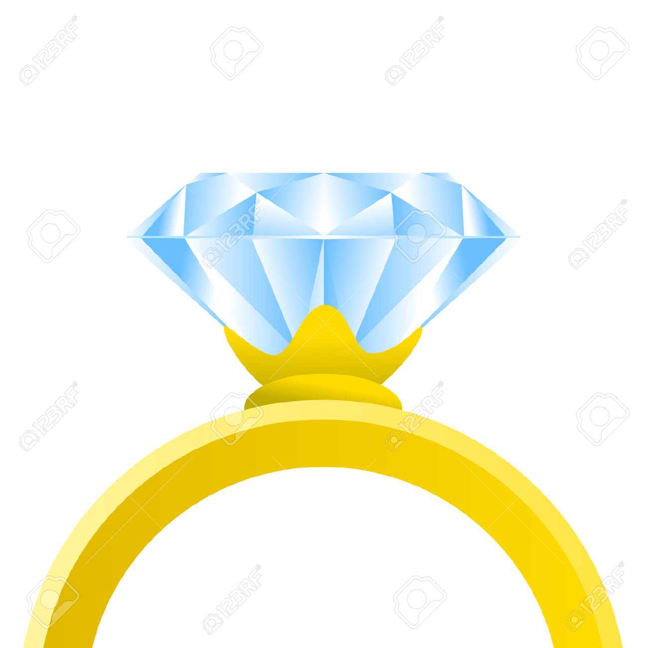 hight resolution of engagement ring clipart 2849