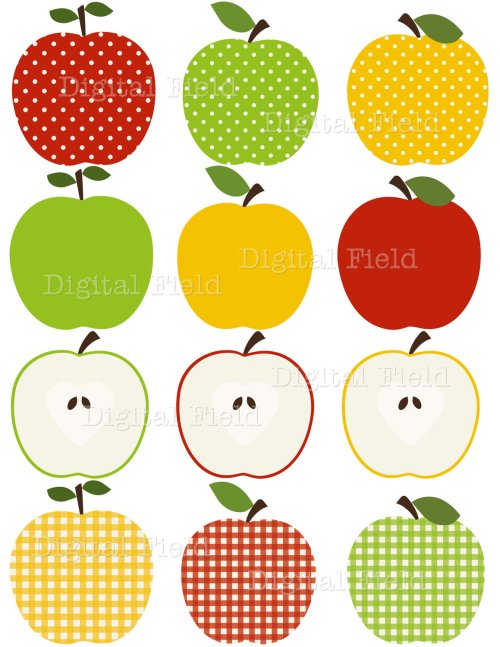 small resolution of popular items for apple clip art on etsy