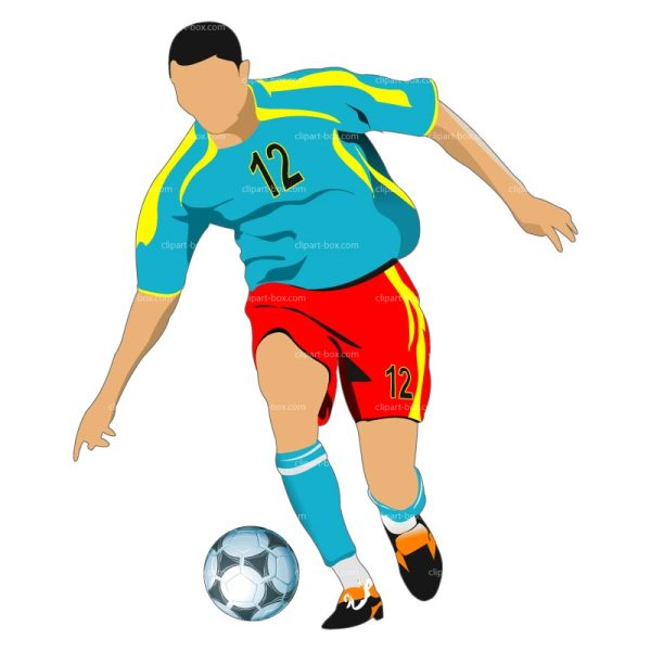 Soccer Player Clip Art Free