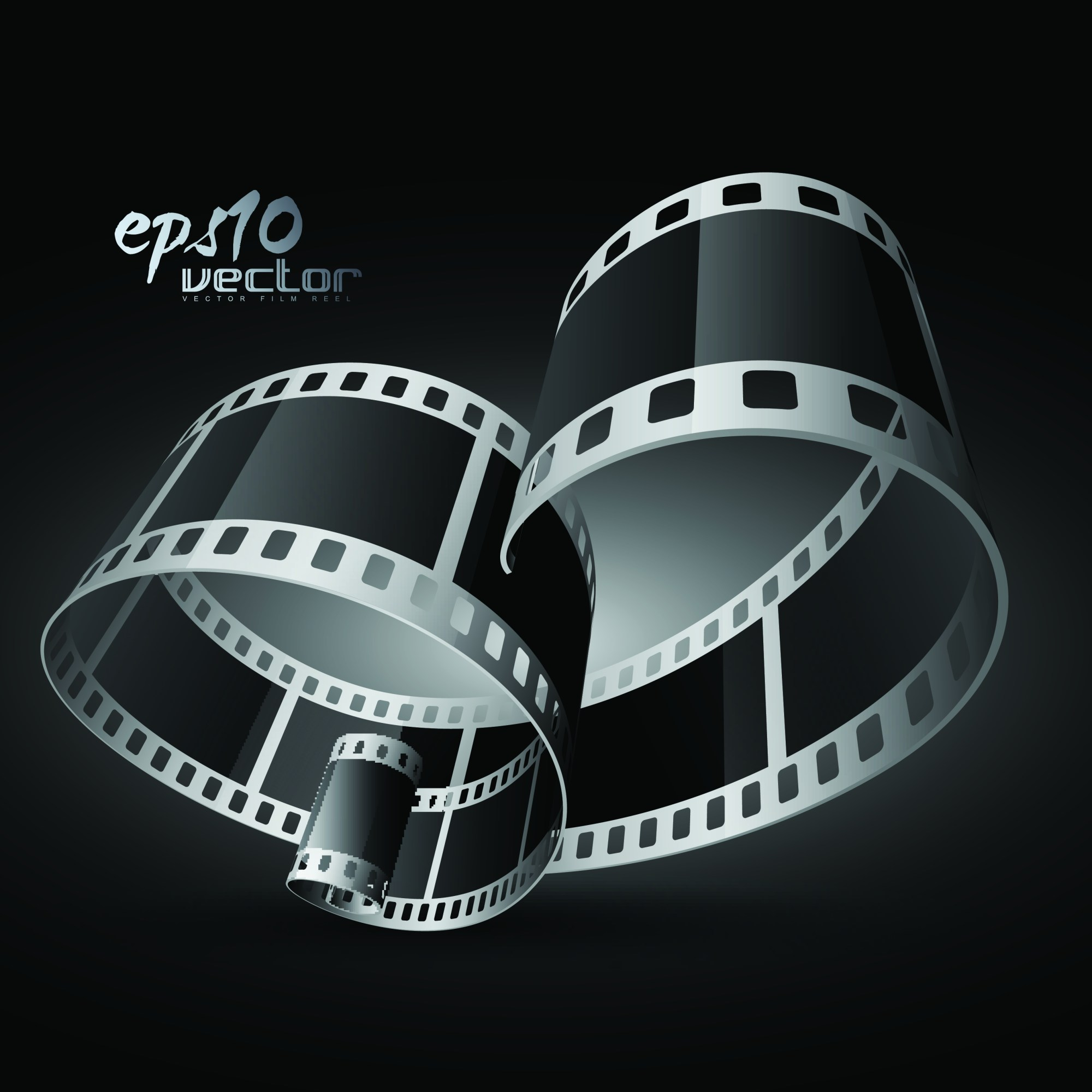 hight resolution of black and white film clip art 3d 1 free vector 4vector