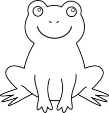 Best Frog Clipart Black And White 13267 Clipartioncom