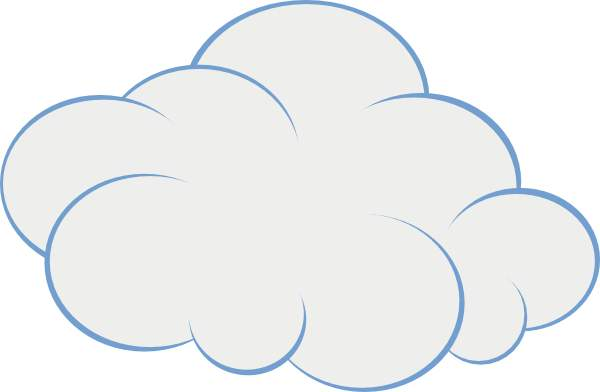 clouds clipart #15905