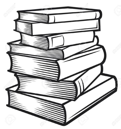 small resolution of black and white book clipart 18181