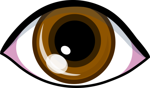 small resolution of brown eyes clipart 18275