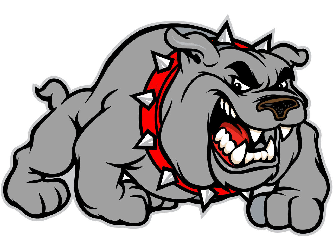 hight resolution of bulldog mascot clipart free clipart images