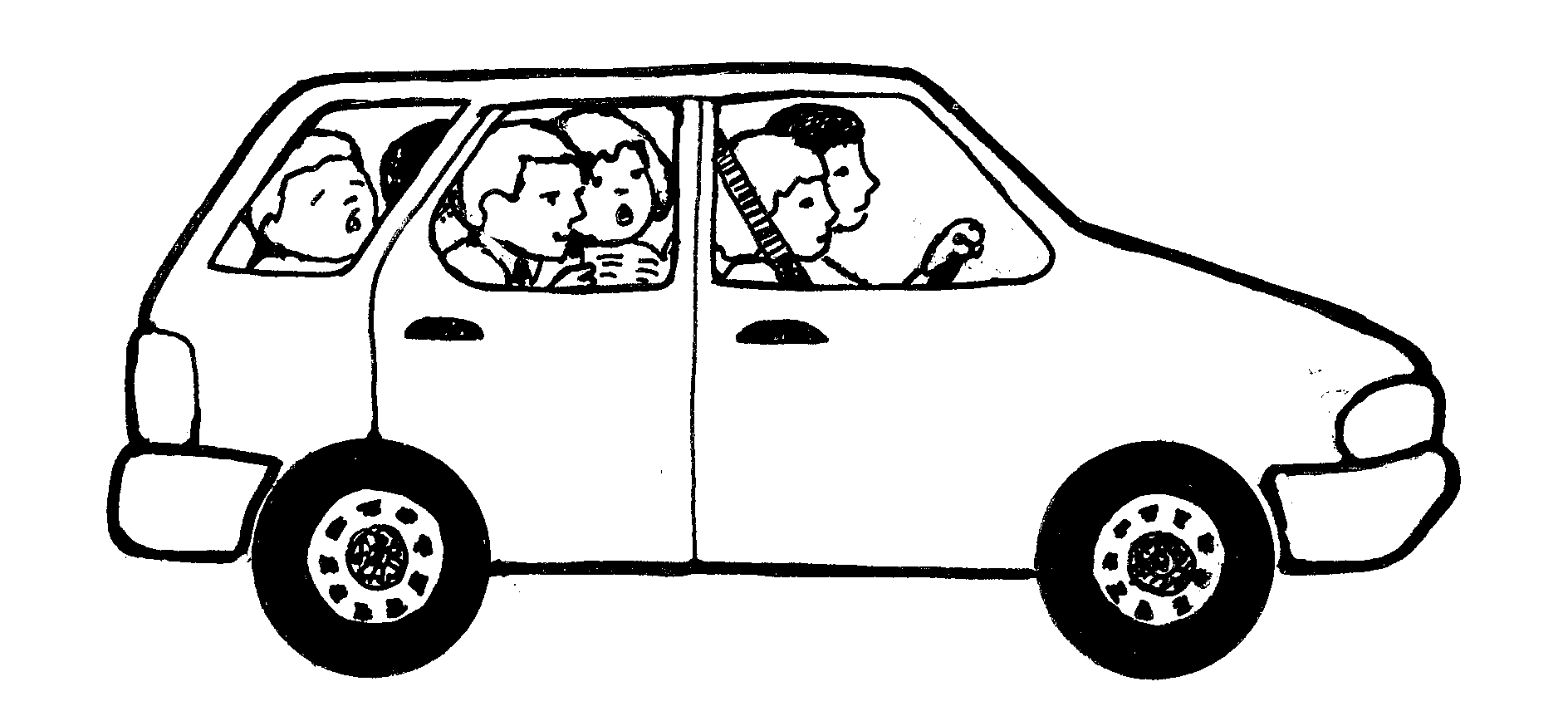 Best Car Clipart Black And White