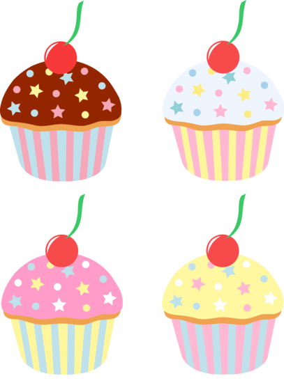 cupcake clipart #21822