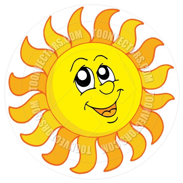 Happy Sun Clipart #12675