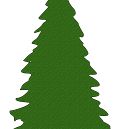 christmas tree outline clipart free clipart [ 775 x 1095 Pixel ]