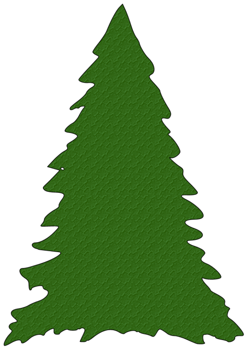 small resolution of christmas tree outline clipart free clipart