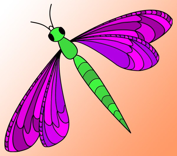 dragonfly clipart #12566