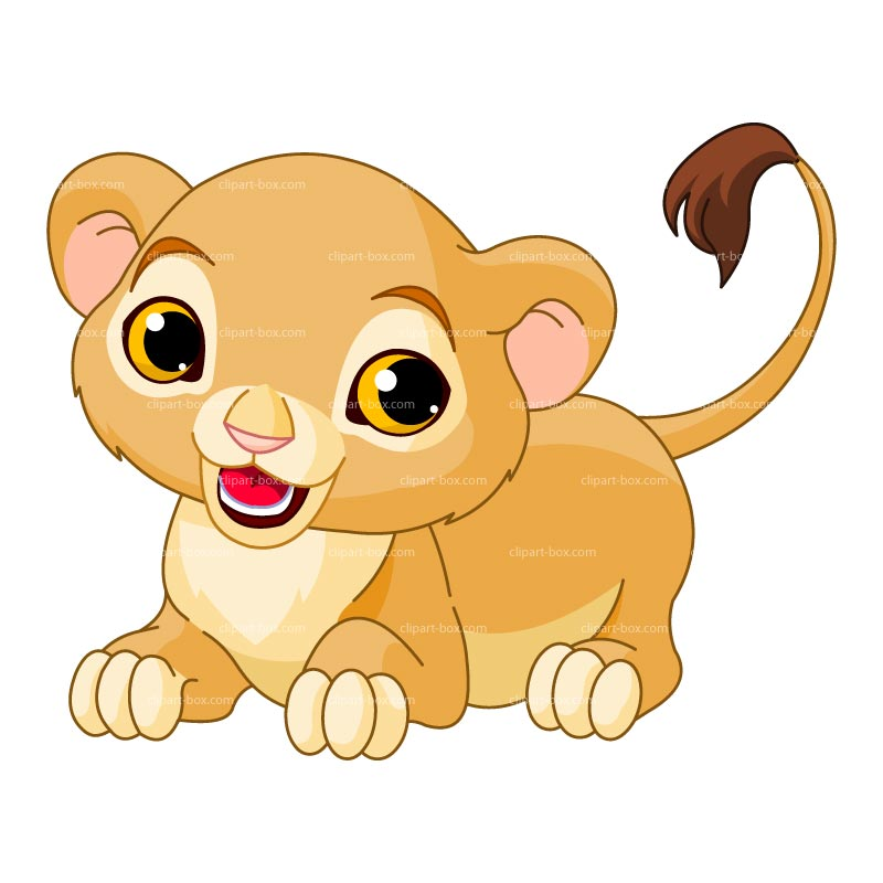 Baby Lion Clipart Clipartion Com