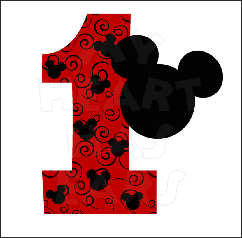 Best Mickey Mouse Birthday Clipart #18446  Clipartioncom
