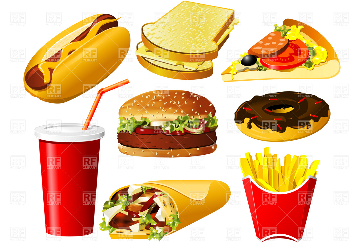 Best Junk Food Clipart 16424 Clipartion Com