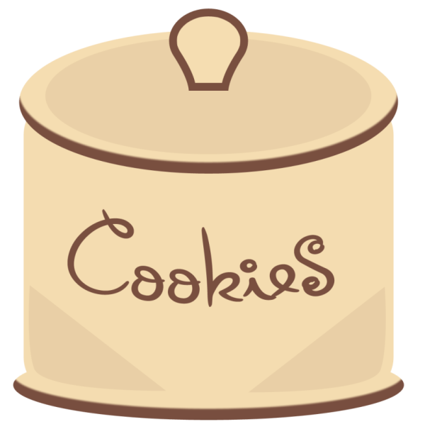 plate of cookies clipart