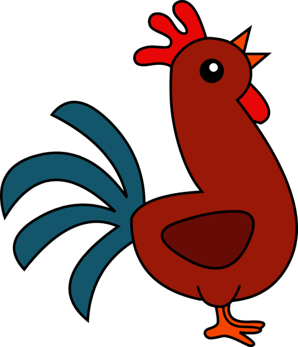 Cute Rooster Clip Art Free