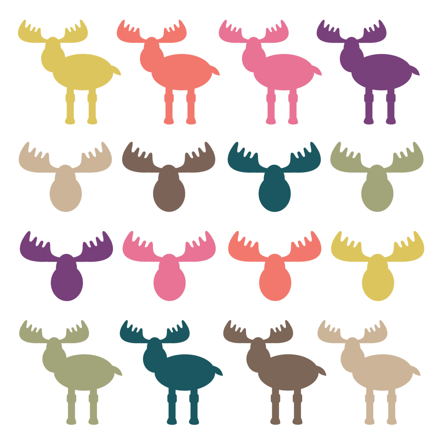 hight resolution of digital download discoveries for moose clip art from easypeach com